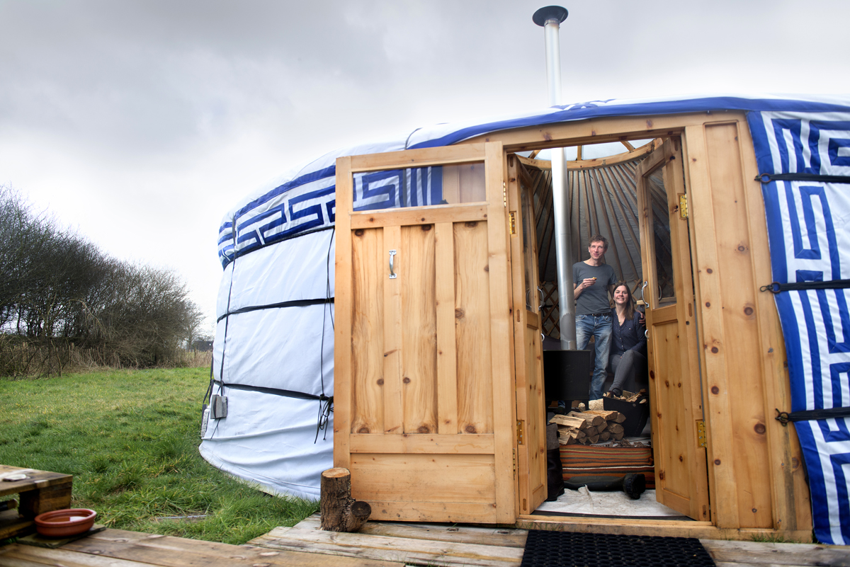 """""""Het is wel een tent met WiFi hé!"""" Zwolle"""